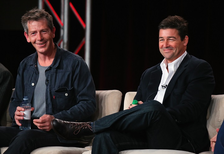 Bloodline Netflix cast members: Pictured above left to right: Ben Mendelsohn and Kyle Crawford - Photo by Mark Davis. Photo Credit - Getty Images for Netflix